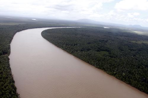 EN VENEZUELA PROTESTAS  por gigantesco derrame de crudo en el río Guarapiche